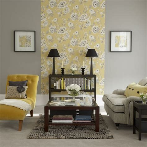 Living Room Design Grey Yellow Yellow Floral Living Room Living Room Furniture