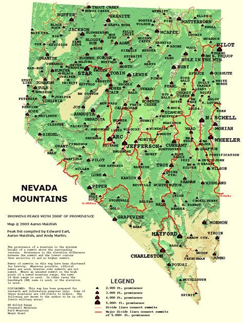 unr map nevada map free large images