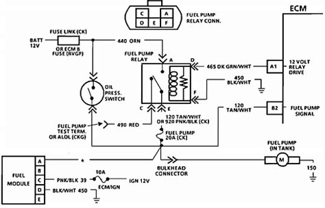 chevrolet c1500 4x2 how do i check my fuel relay on my