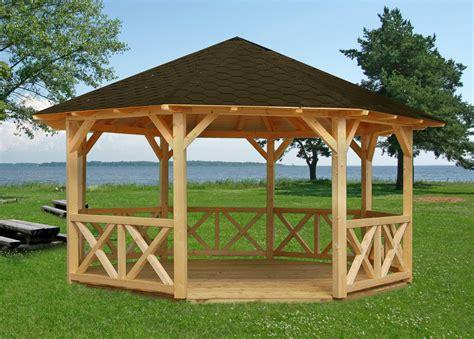 kiosque en bois pour jardin kiosque en bois autour du bois concept