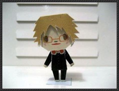Persona Papercraft - shin megami tensei persona 4 chibi yosuke hanamura free