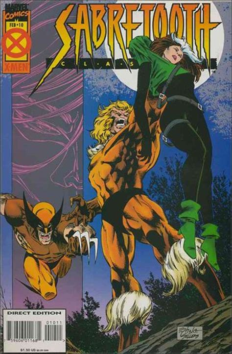 sabretooth classic vol 1 9 marvel database fandom powered by wikia sabretooth classic 10 a feb 1995 comic book by marvel