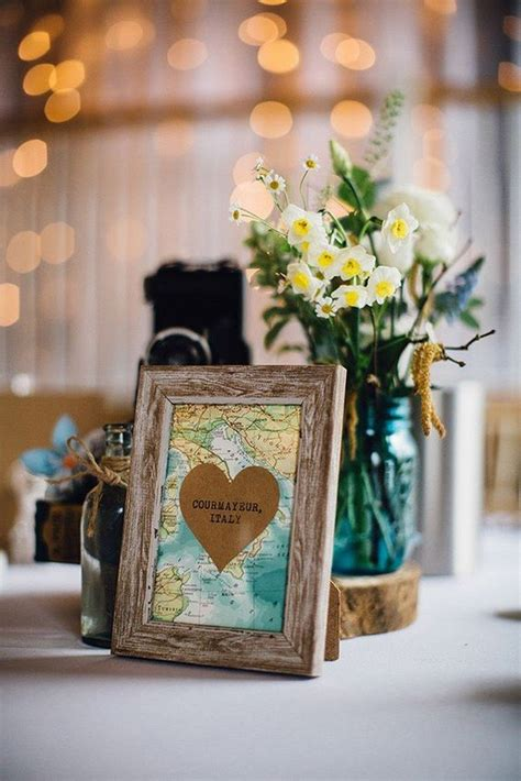 travel themed wedding ideas  inspire   day