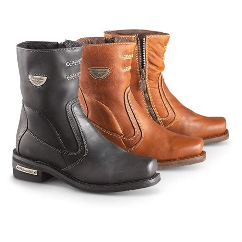 womens motorcycle boots women s milwaukee 174 shifter motorcycle boots 232412