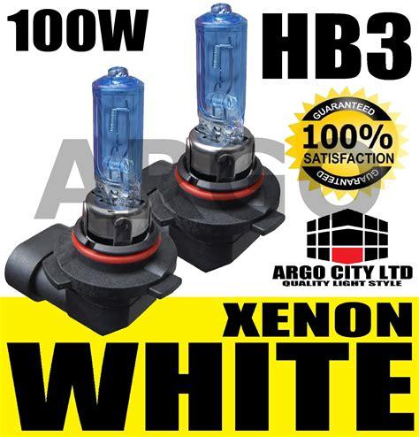 lada hb3 hb3 100w xenon white high beam headlight