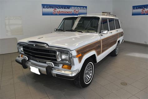 lowered jeep wagoneer 1991 jeep grand wagoneer for sale 1916866 hemmings