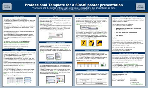 powerpoint scientific poster template webprodukcja com