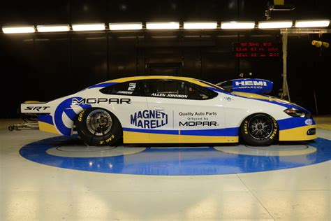 mopar turns dodge dart into pro stock racer w