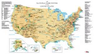 united states map of national parks usa national parks wall map maps