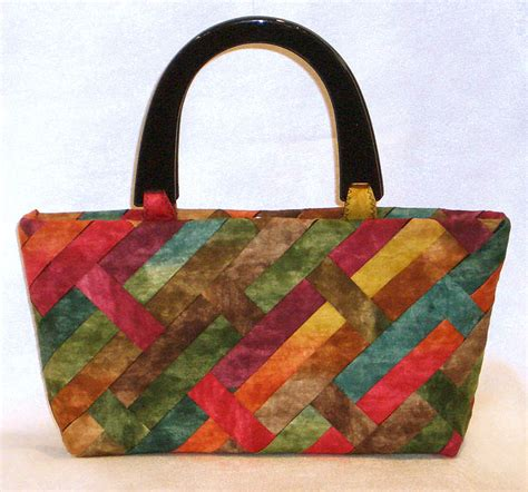 Project Handbag by Weave A New Fabric For Your Purse Project Lazy Designs