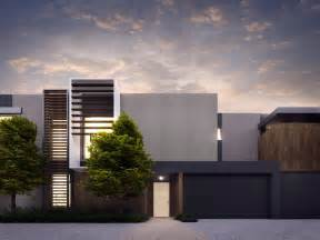 Townhouse Design Cotery Townhouse Contemporary Facade Design