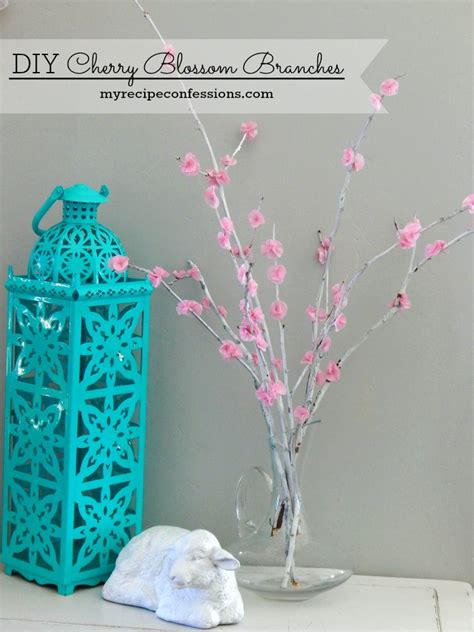 tree diy projects diy cherry tree branches my recipe confessions