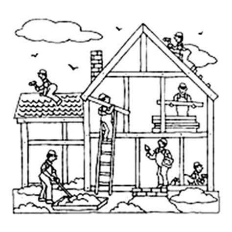house jobs Colouring Pages