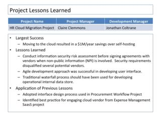 Lessons Learned Template Project Management by Closing The Project 10 Ways To Embed Lessons Learned In