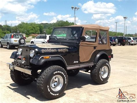 Jeep Eagle 1980 Jeep Cj5 Golden Eagle
