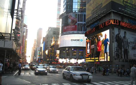 The Banks Show To New York by Broadway At West 42nd 1898 To 2011 Ephemeral New