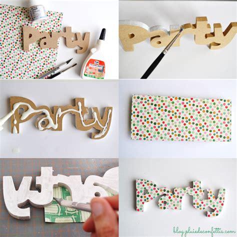 como decorar letras en papel manualidades como hacer letras