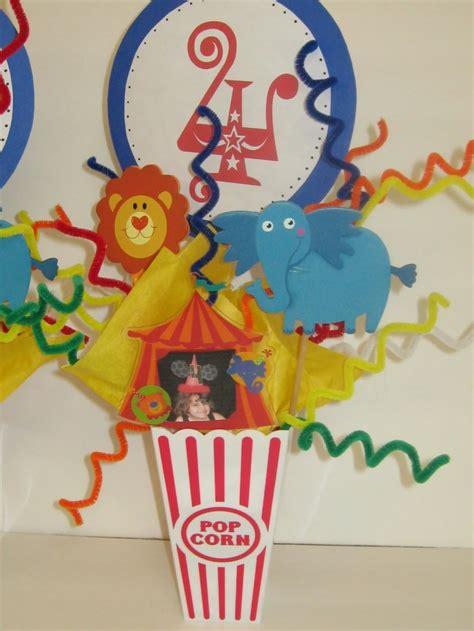 popcorn centerpieces brady s birthday ideas pinterest