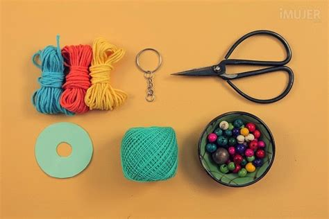 Handmade Keychain Ideas - craft tips how to make handmade cool keychain interior