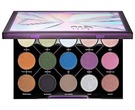 Promo 3 Decay Eyeshadow Palette 3d decay distortion eyeshadow palette for 2017