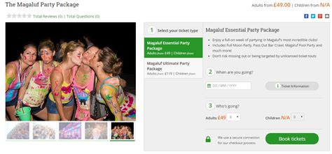magaluf essential party package    sunshinestacey