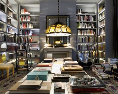 20 home library design exles