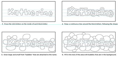 doodle names tutorial how to doodle your name pdf tutorial available