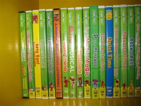 7 Great Sts For Collecting by Sesame Dvd Box Set Pictures To Pin On