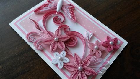 Designer Handmade Cards - beautiful handmade greeting cards designs step by step
