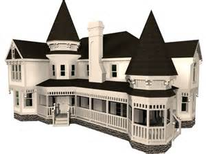 3d modeling house victorian house 3d model 3dsmax files free download