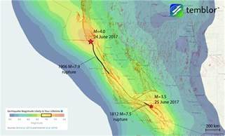 california earthquake map weekend earthquakes along the san andreas fault tips