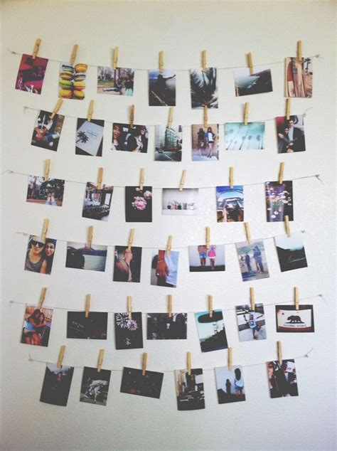 Wall Inspiration Photo Wall Inspiration Diy Crafty Pinterest