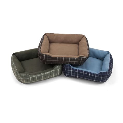 walmart pet beds soft spot rectangle cuddler assorted pet bed 19 quot wx15 quot d