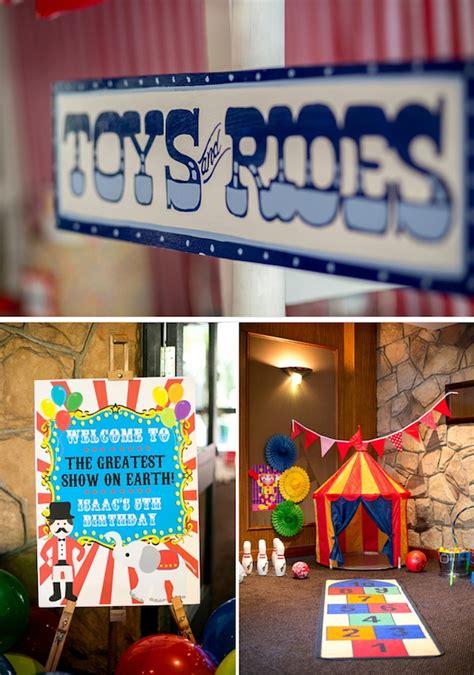 karas party ideas circus carnival boy girl  birthday