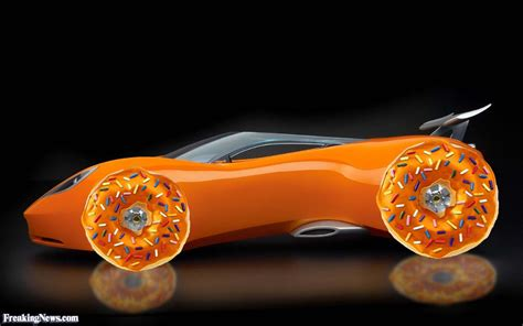 car with car with donut tyres pictures freaking news