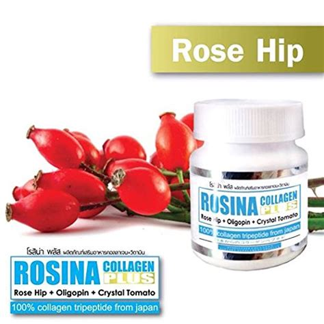 Rosina Collagen rosina collagen plus 30 count 1 box collagen tripeptide