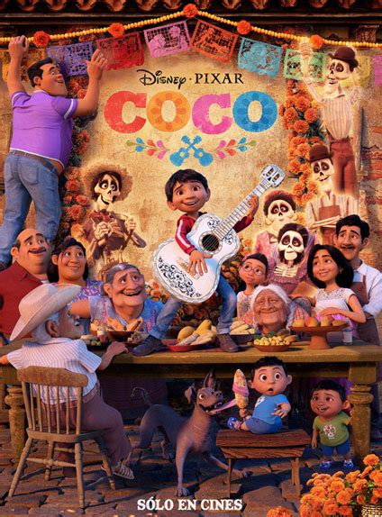 coco web film coco l affiche internationale du nouveau pixar se