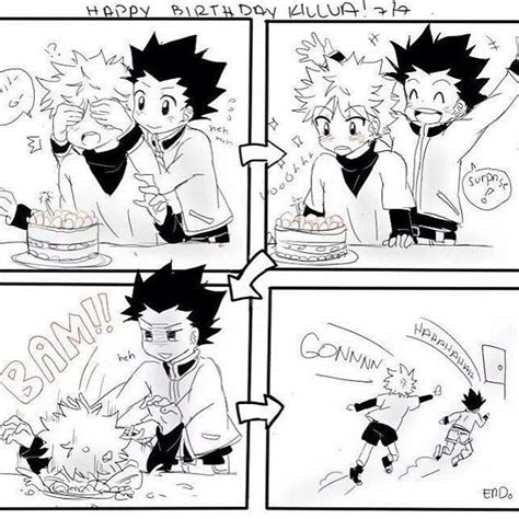 Mendes Will Make Comic Fans Happy by Wish A Happy Birthday To Killua X