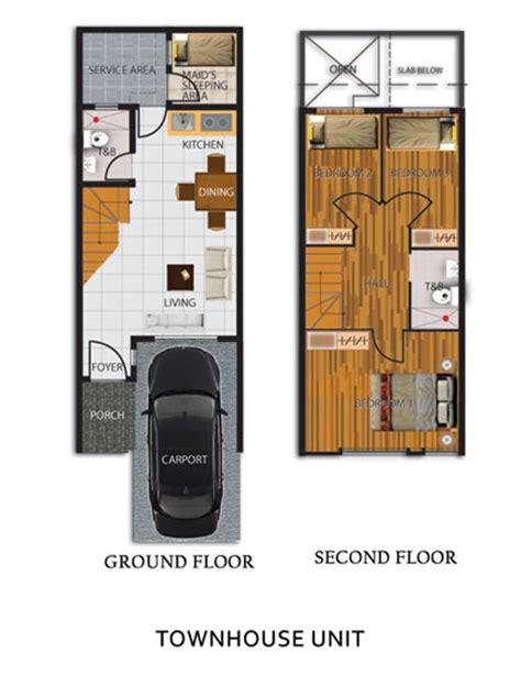 Grand Monaco Hills Zonal Realty Townhouse Floor Plan Philippines