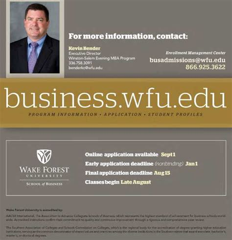 Http Business Wfu Edu New Students Evening Mba Health Insurance by Wfu Mba Scholarships 2018 2019 Student Forum