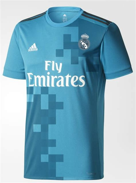 Jersey Real Madrid New 20172018 blue real madrid jersey 2017 18 new real third kit 2017 2018 by adidas football kit news