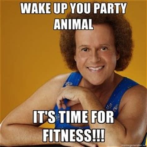 Birthday Workout Meme - the 25 best richard simmons ideas on pinterest richard