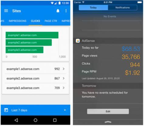adsense mobile adsense updates mobile app