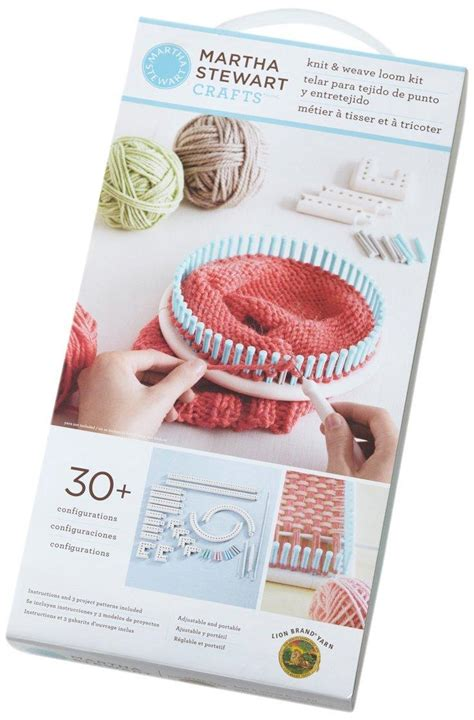 martha stewart crafts knit weave loom kit brand yarn martha stewart crafts knit and