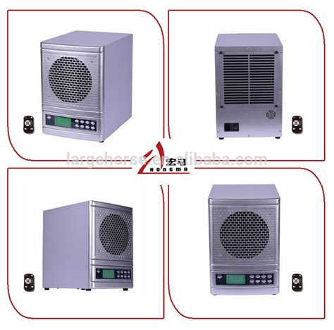 hepa type electronic air purifier with remote contral air cleaner ozone generator from large