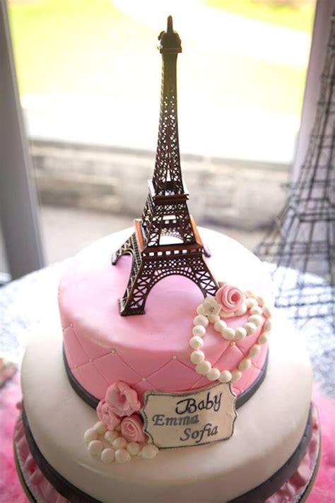 Eiffel Tower Baby Shower Cakes by 17 Best Images About On Themed Baby Showers Theme And