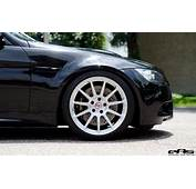 Jet Black BMW E90 M3 Rides On White HRE Wheels From EAS