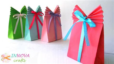 paper craft gifts crafts paper gift bag easy vidinfo
