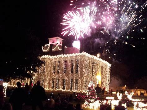 johnson city lights lights spectacular johnson city tx cheer