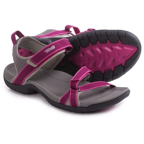 pink and blue sandals teva verra sport sandals pink and lake blue new